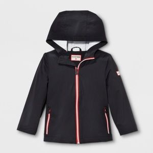 Hunter for Target Black Packable Raincoat